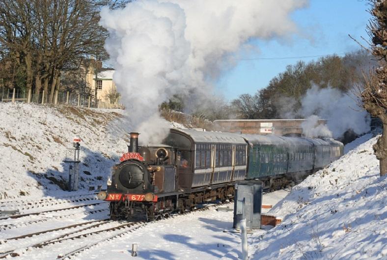 Christmas Specials 2019.Santa Specials 2019 Bluebell Railway